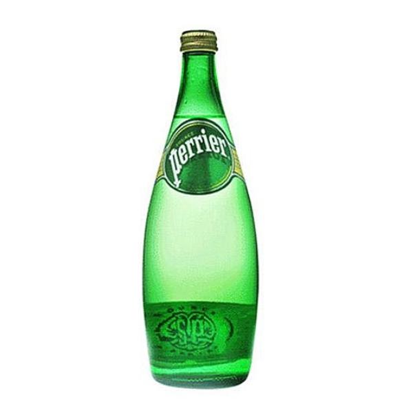法國 沛綠雅perrier天然氣泡礦泉水 750ml x 12瓶 (玻璃) 免運費 沛綠雅 perrier 氣泡水 礦泉水 飯店 冰箱 牛排 法餐  野餐 飲料 餐廳 西餐