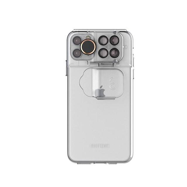 結合濾鏡、魚眼、微距鏡頭 *【SHIFTCAM】 2.0旅行攝影組手機殼透明(iphone 11 / 11 pro /Pro max/ XS Max)