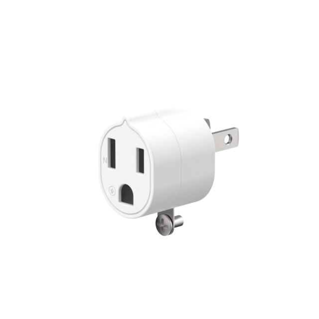 【Unipapa】 有序延長線配件 3轉2電源轉接頭