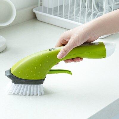加液刷 洗碗刷鍋洗鍋神器長柄家用廚房不黏鍋油清潔刷子炊帚自動加液懶人