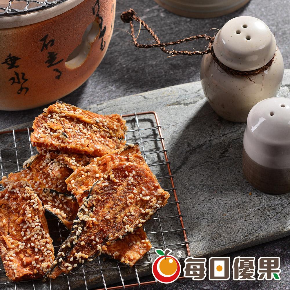 黑糖黃金魚酥(比目魚骨)大包裝600G 每日優果