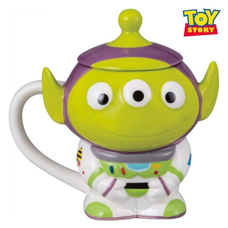 迪士尼 【 SAS 日本限定 】玩具總動員 三眼怪 巴斯光年裝版 馬克杯 / 杯子 / 水杯