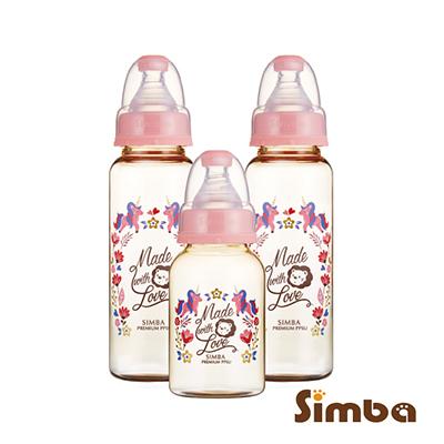 小獅王辛巴 桃樂絲PPSU標準奶瓶經濟組(2大1小)