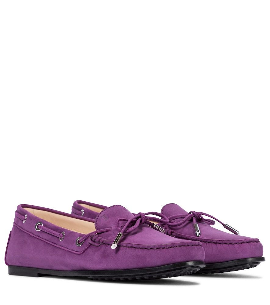 City Heaven suede loafers