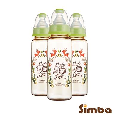 小獅王辛巴 桃樂絲PPSU標準大奶瓶3支組(240ml)