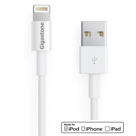 Gigastone Apple認證 快速充電線(2.4A快充)(1M)