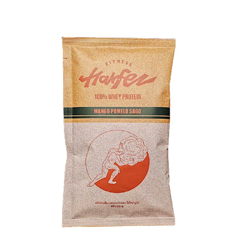 [Harfez Fitness] 力宴健身原創乳清蛋白 (40g/包) (蛋奶素) 楊枝甘露風味