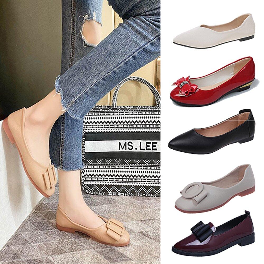 【韓國K.W.】(預購) 限量下殺↘華麗端莊首選獨家鞋款系列-8款可選