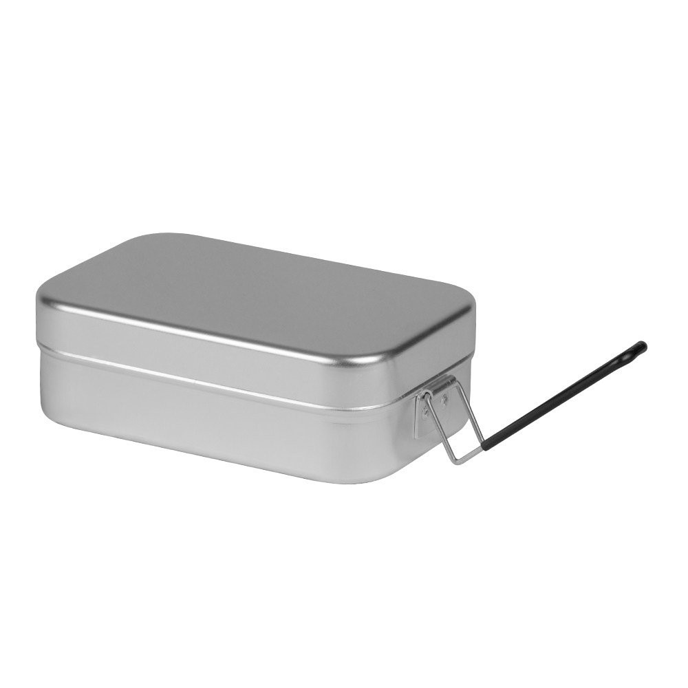 Trangia Mess Tin 煮飯神器便當盒 方形鋁便當盒大 紅/黑把手 500209 500309 綠野山房