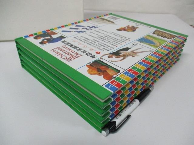 【書寶二手書T1/語言學習_EBL】雙語兒童圖解辭典_5冊合售