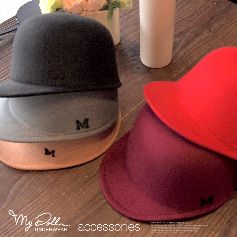 馬術帽‧韓系復古風‧仿羊毛呢英倫禮帽M字母馬術帽   (紅x黑x駝x灰x棗色)【C2005】