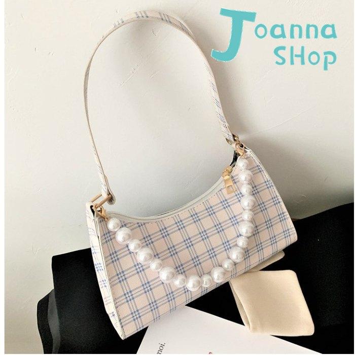 閃閃蘇格蘭珍珠肩背包1-Joanna Shop
