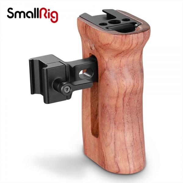 SmallRig 斯莫格單反木質手柄滑槽側手柄兔籠相機配件2187