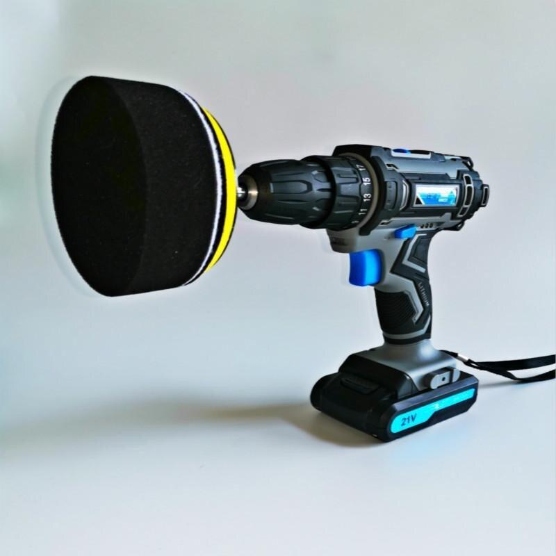 無線汽車拋光機打磨神器可調速打蠟機迷你充電動修復工具美容車用 小山好物