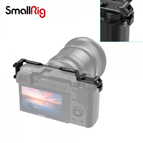 SmallRig 斯莫格索尼A6400專用雙側冷靴配件Sony A6300 a6500熱靴外擴自拍件 2334