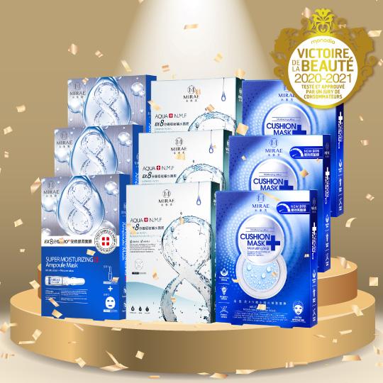 【未來美】★法國維多利亞獎最佳面膜金獎★8分鐘面膜9盒大獎超值組