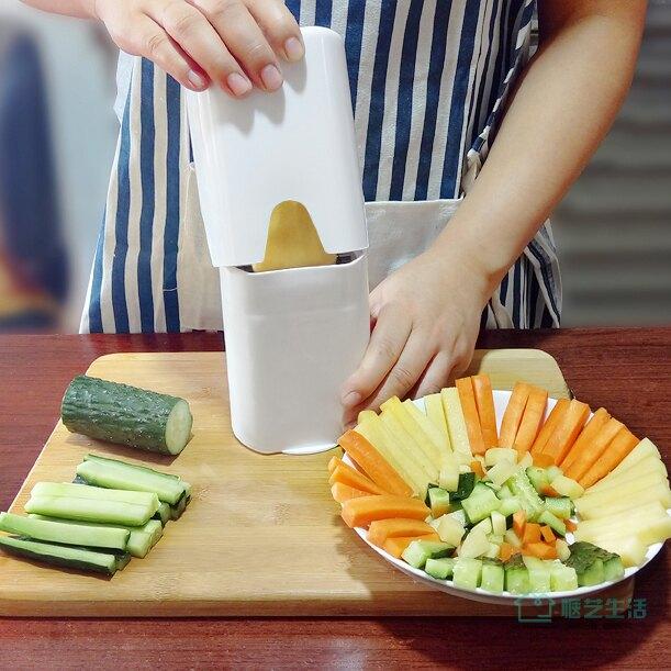 薯條切條器 薯條切條神器切馬鈴薯蘿蔔黃瓜家用薯條切刀手動廚房切丁器切塊工具【全館免運 限時鉅惠】