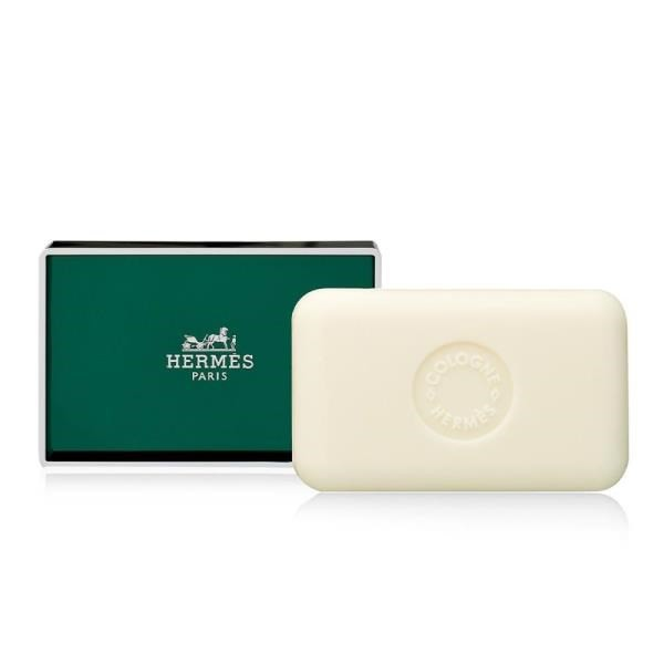 HERMES愛馬仕橘綠之泉盒裝香水皂50g