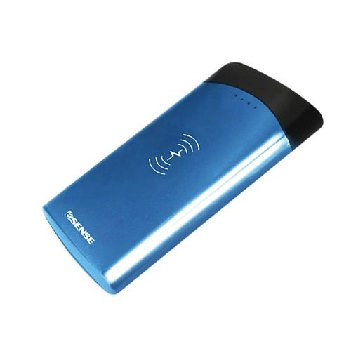 逸盛 Esense QI無線充電 10000mAh 充電 行動電源 藍色