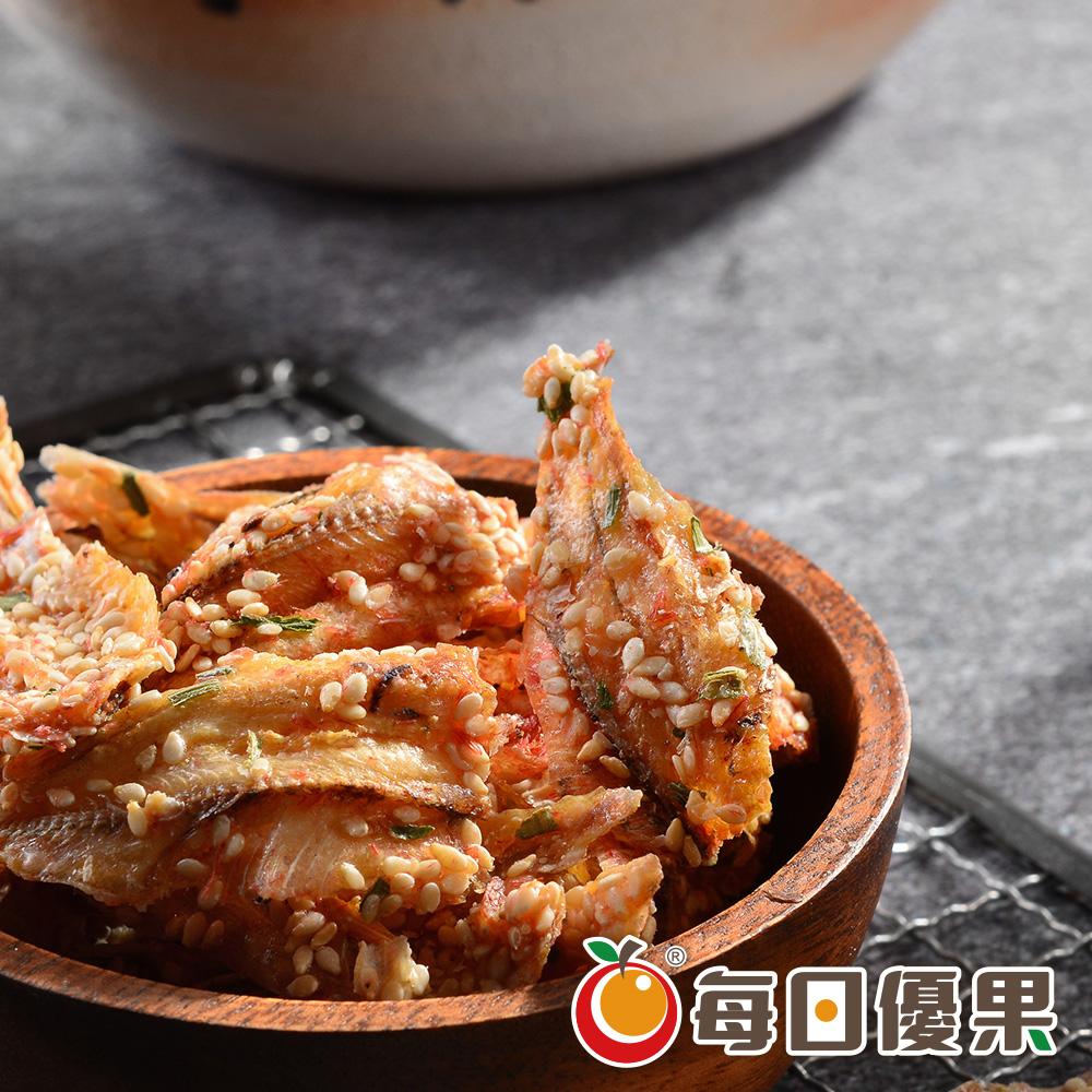 櫻花黃金魚酥大包裝600G 每日優果