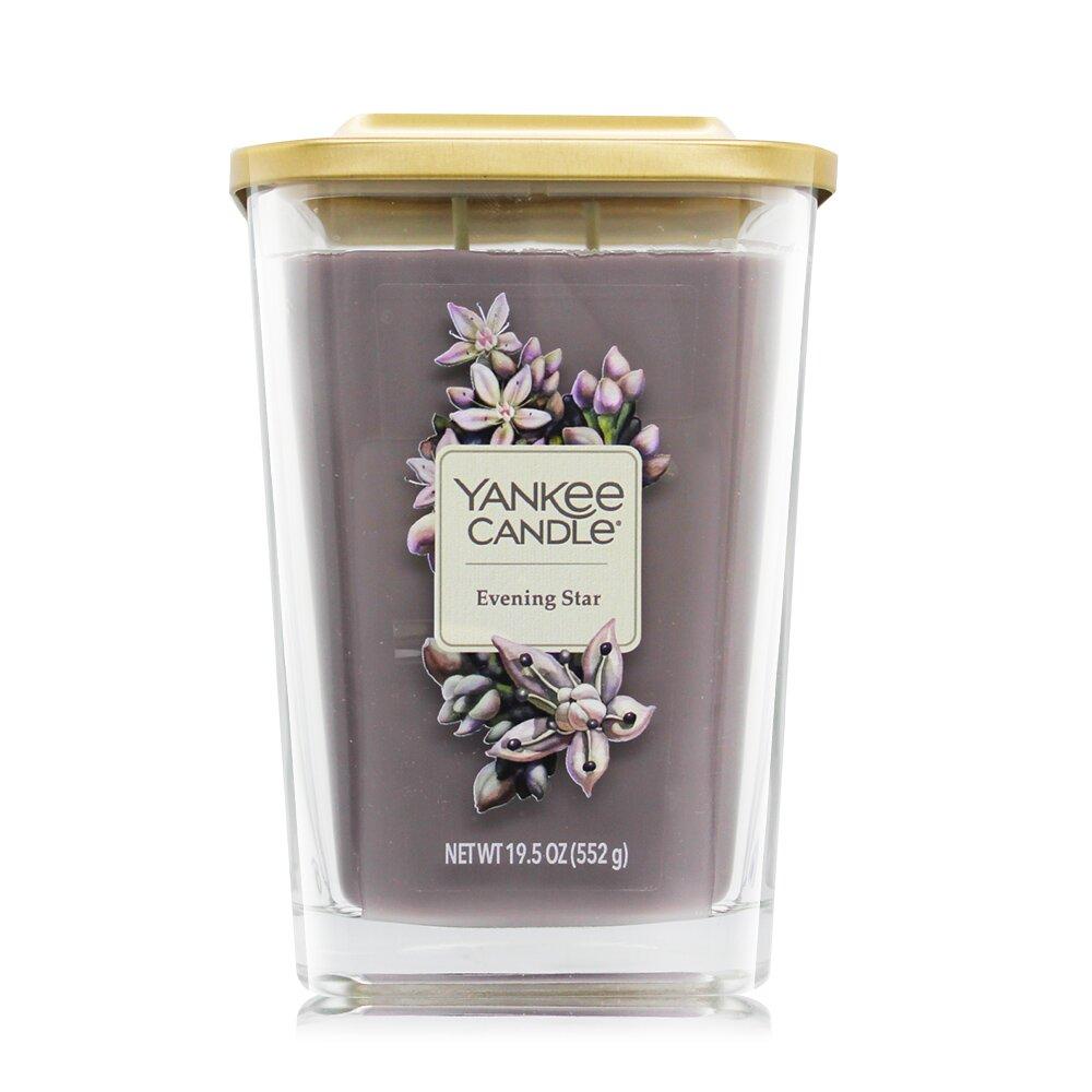 YANKEE CANDLE香氛蠟燭-黃昏之星Evening Star(552g)-方瓶