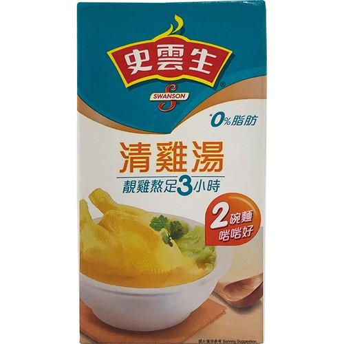 史雲生 清雞湯(500ml/盒)[大買家]