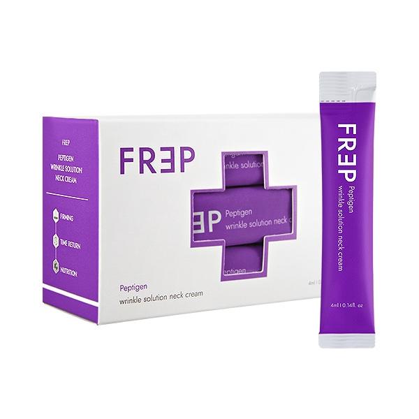 韓國 FREP 胜肽膠原頸霜(4mlx20入)盒裝【小三美日】D390042