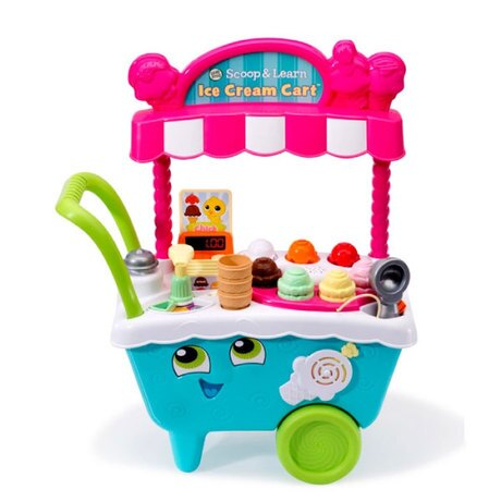 LeapFrog跳跳蛙全英玩具-冰淇淋小老闆學習車