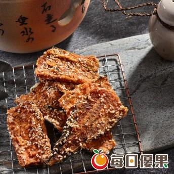 黑糖黃金魚酥(比目魚骨)160G 每日優果
