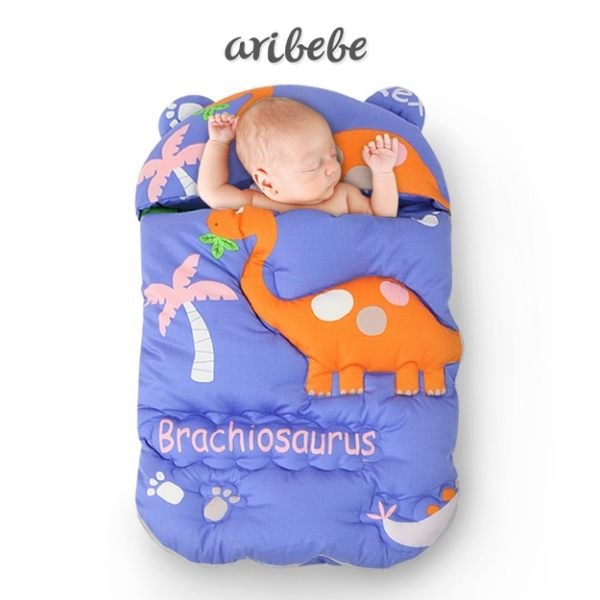 ARIBEBE 韓國手工嬰兒睡袋-恐龍 C-SBD5008