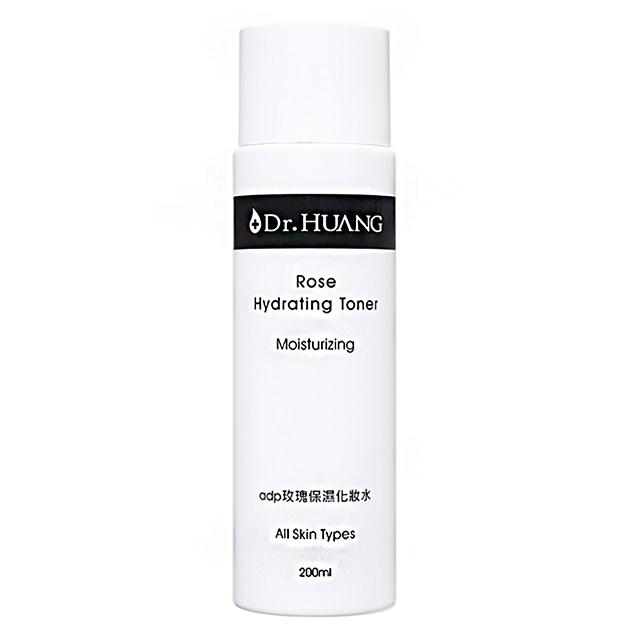 【Dr.HUANG黃禎憲】adp玫瑰保濕化妝水(200ml)