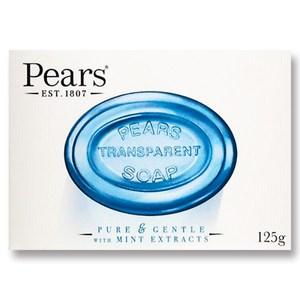 Pears 保濕甘油香皂-沁涼薄荷(125g)*24