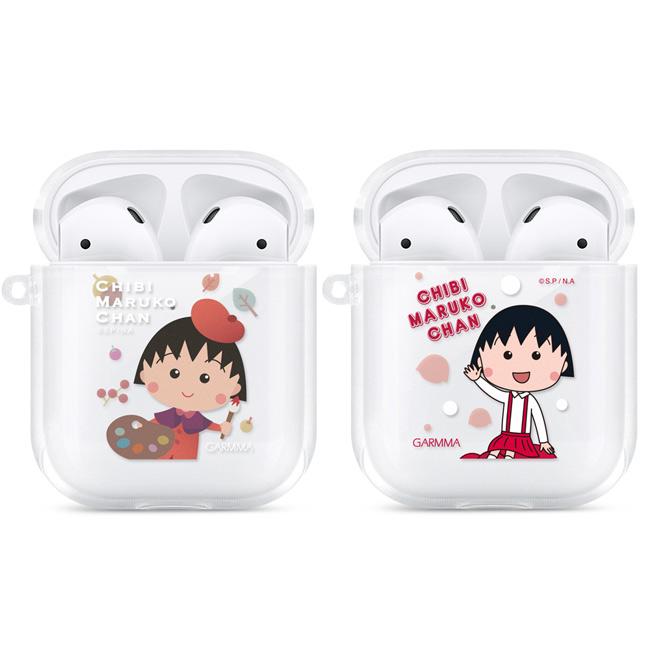 GARMMA 櫻桃小丸子 AirPods 1&2代 耳機盒 TPU保護套