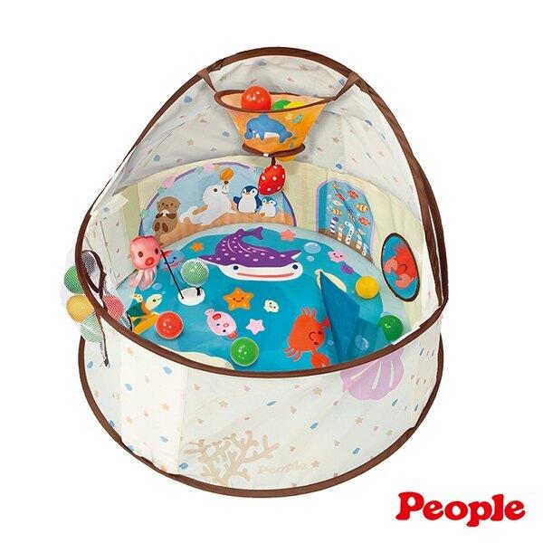 People 360度趣味遊戲池(附小球)