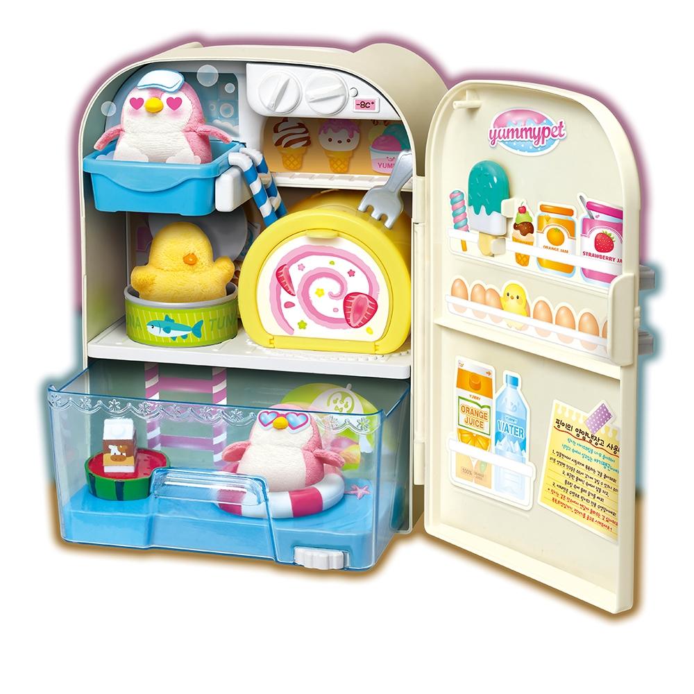 【MIMI WORLD】 貪吃企鵝小冰箱