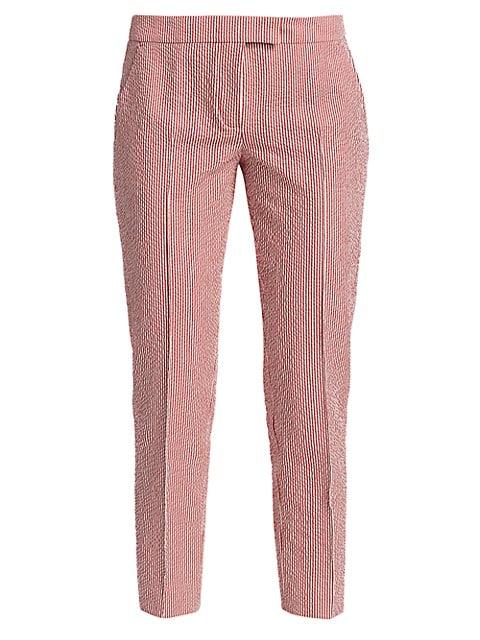 Frankie Seersucker Pinstripe Pants