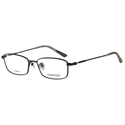 Calvin Klein 純鈦 光學眼鏡 (黑色)CK19142A
