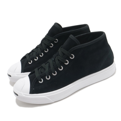 Converse 休閒鞋 Jack Purcell 運動 男女鞋 開口笑 基本款 舒適 簡約 情侶穿搭 黑 白 169442C