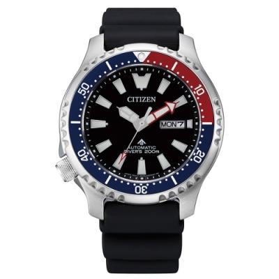 CITIZEN 星辰PROMASTER 鋼鐵河豚潛水機械腕錶NY0110-13E