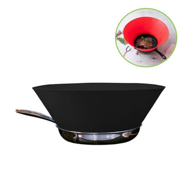 保護家中大廚不被熱油濺傷*【FRYWALL】  防噴濺鍋邊護板 10 吋 (共3色)