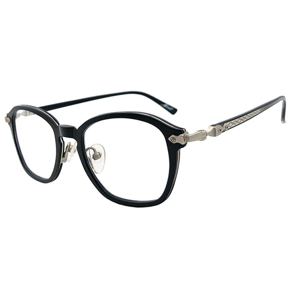 【SUNS】TR系列光學眼鏡鏡框 時尚復古簡約黑框(複合材質/全框)