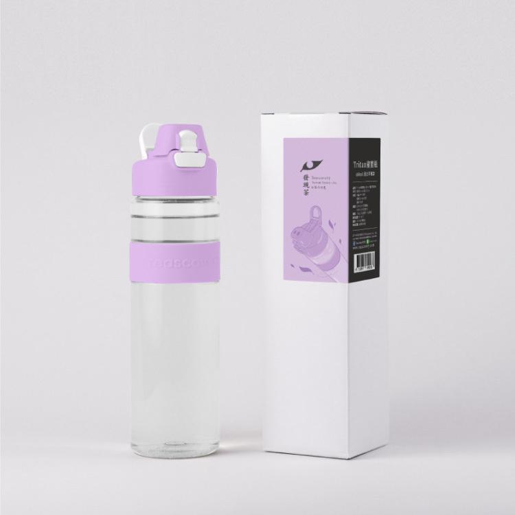 【發現茶】Tritan豬寶瓶–薰衣草紫款680ml★100%台灣製造 美國FDA認證
