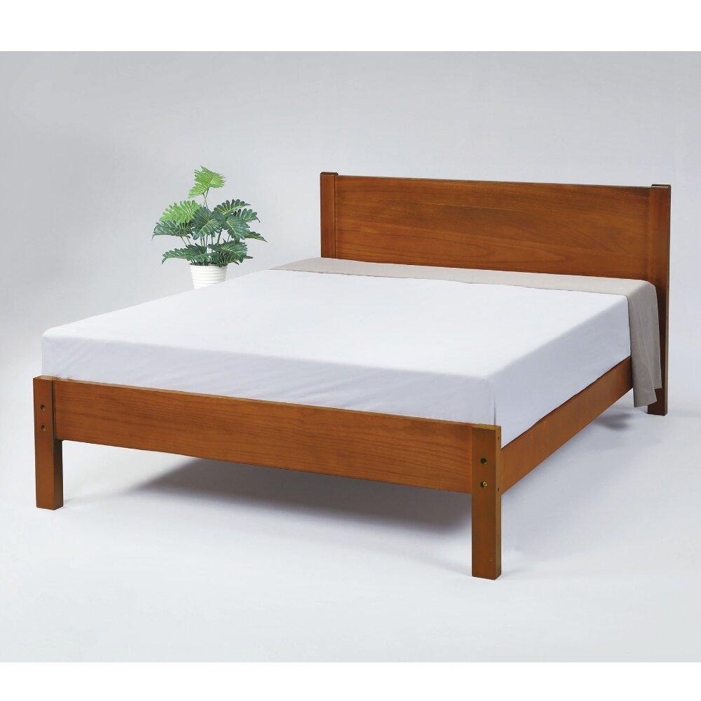 【MUNA】1848型馬丁5尺實木雙人床
