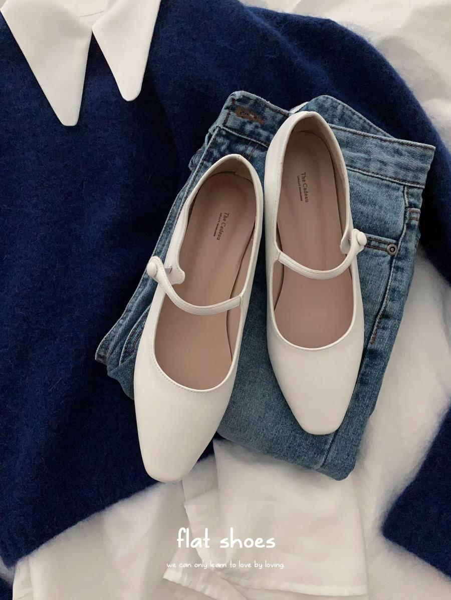 韓國空運 - Nell Flat Shoes 平底鞋