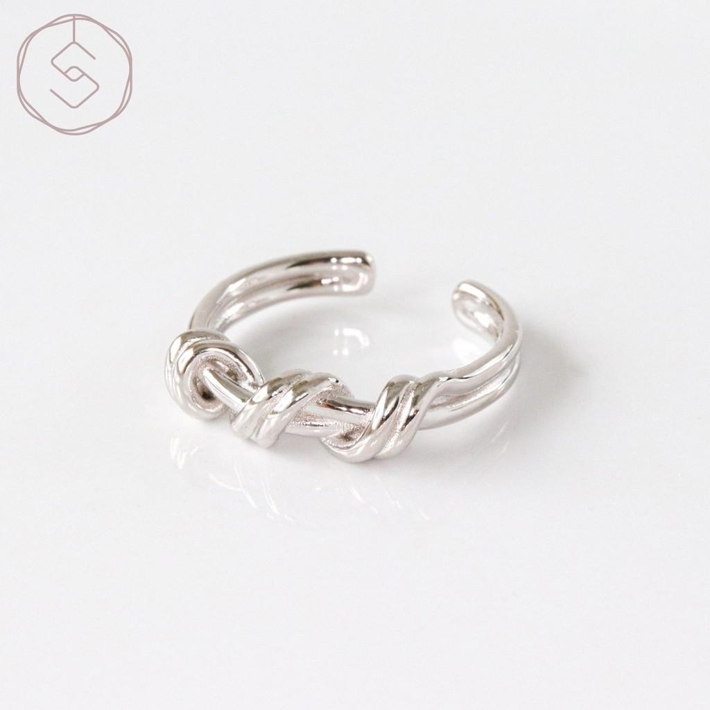 【SPANCONNY】纏繞愛情 純銀戒指