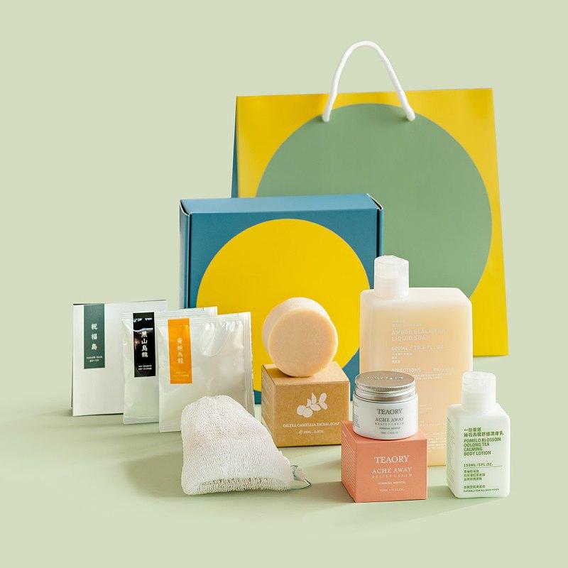 【香氛洗沐禮盒】祝福島禮盒-5種植覺連結身體和一座島