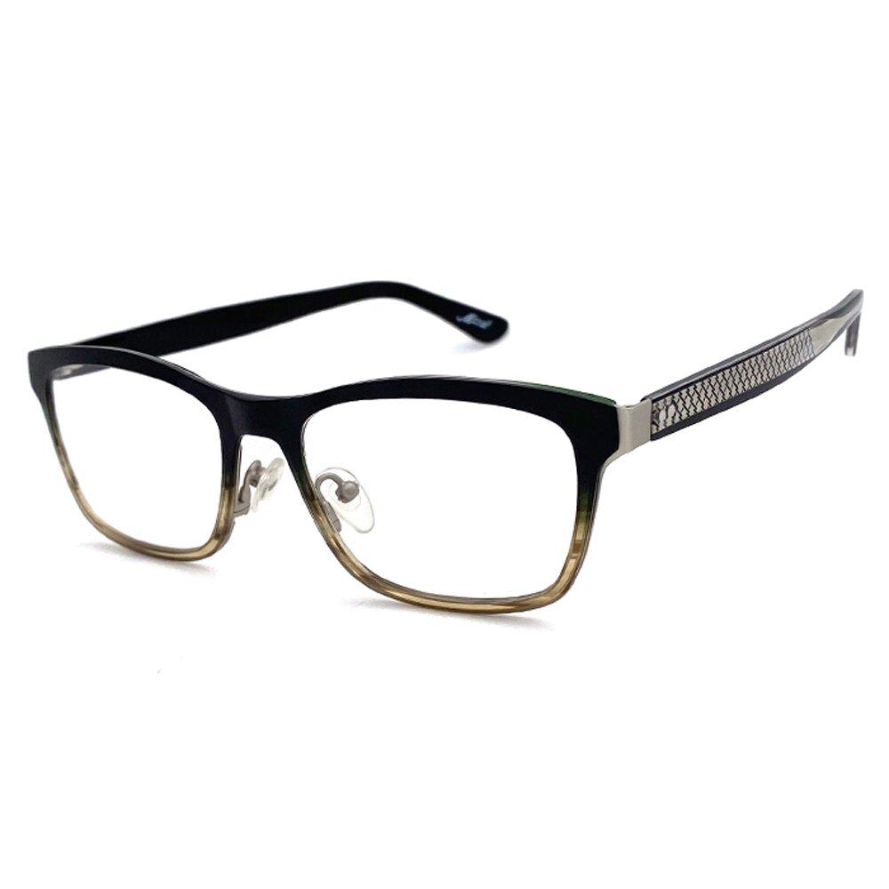 【SUNS】複合材質系列光學眼鏡鏡框 漸層茶框(全框)