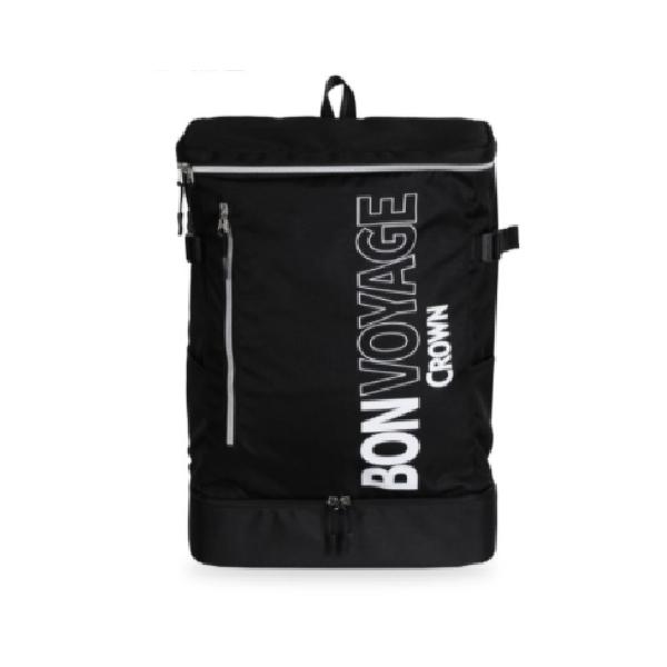 【CROWN】 BONVOYAGE 旅行後背包 - 黑色款