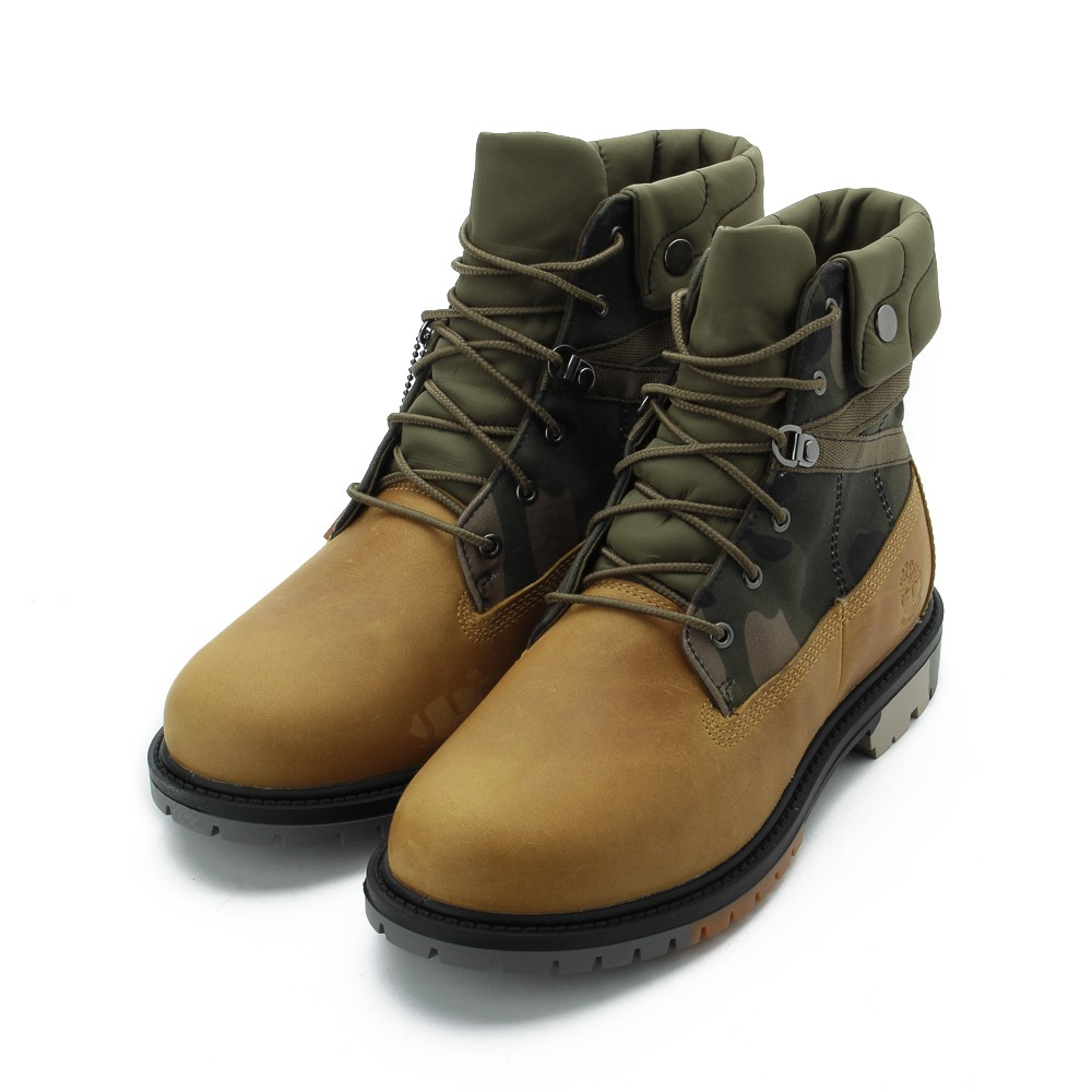 TIMBERLAND 全粒面地球守護者經典靴 黃綠 A2J3X 女鞋