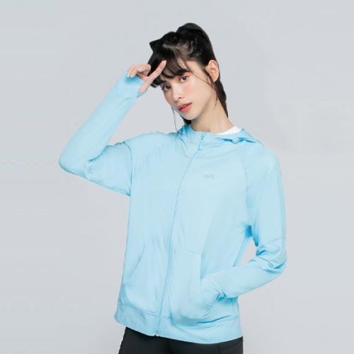 MIT冰涼護膚外套(天空藍 M-2XL)★新品特價85折↘只到8/27,UPF50+阻絕紫外線,接觸涼感讓肌膚瞬間透沁涼